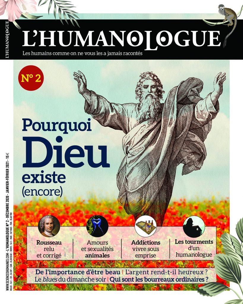 Couverture du deuxième numéro de l'Humanologue