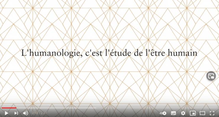 Quatrième vidéo de L'Humanologuequi explique comment on devient Humanologue