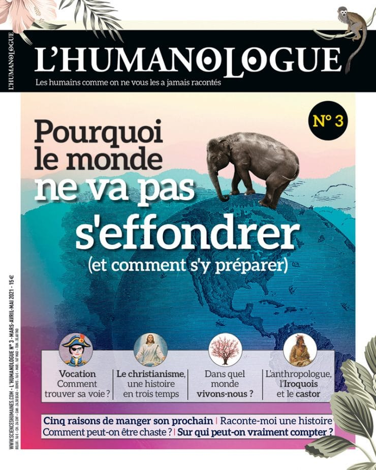 Couverture du numéro 3 de L'Humanologue