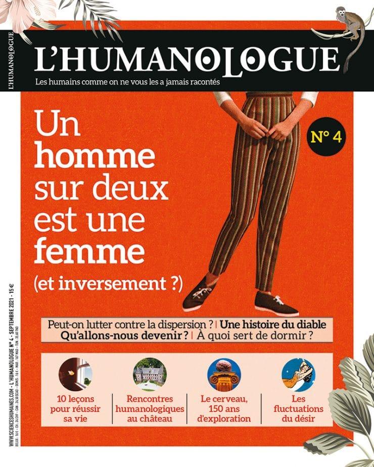 Couverture du numéro 4 de L'Humanologue (créé par Jean-François Dortier)